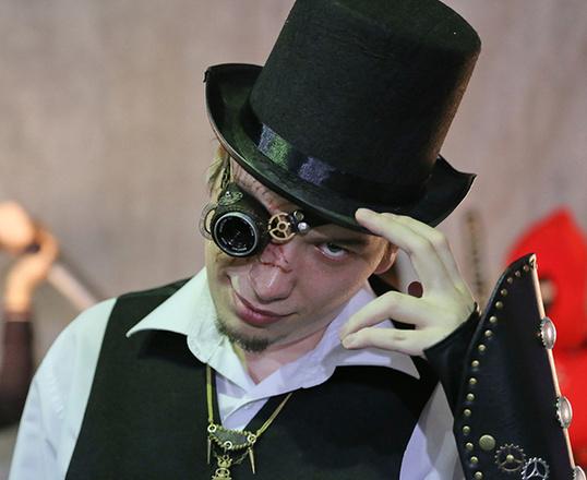 Хмелевар, комикс-конвент «Готэм», фото