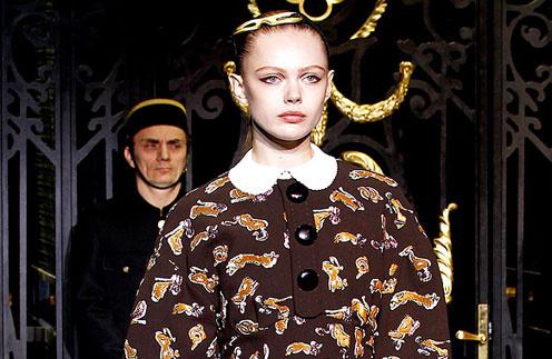 Louis Vuitton, коллекция осень-зима 2011/12