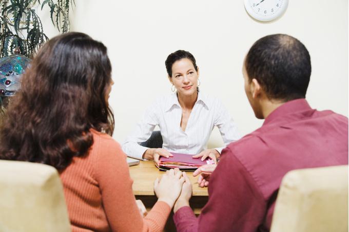 Пара на приеме у терапевта