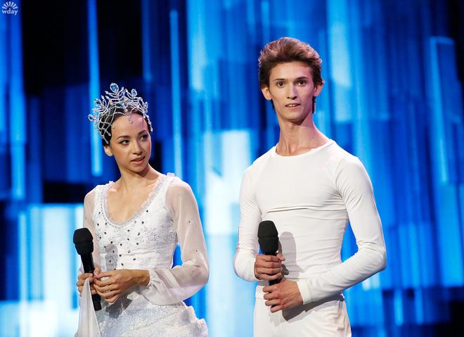 Артисты красноярского театра оперы и балета Екатерина Булгутова и Юрий Кудрявцев