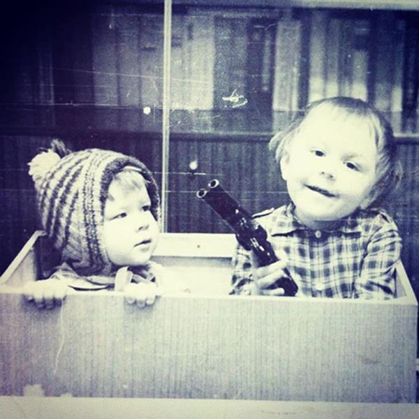 Сергей Шнуров в детстве фото