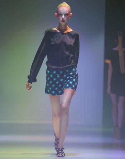 Mercedes-Benz Fashion Week Russia: коллекция Maroussia Zaitseva весна-лето 2013