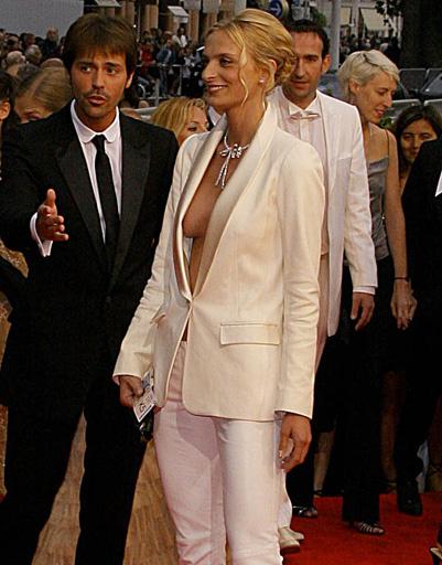 Сара Маршалл на Каннском кинофестивале - 2008