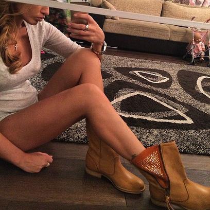 Ксения Бородина: фото, нижнее белье