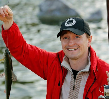 Сергей Безруков, рыбалка