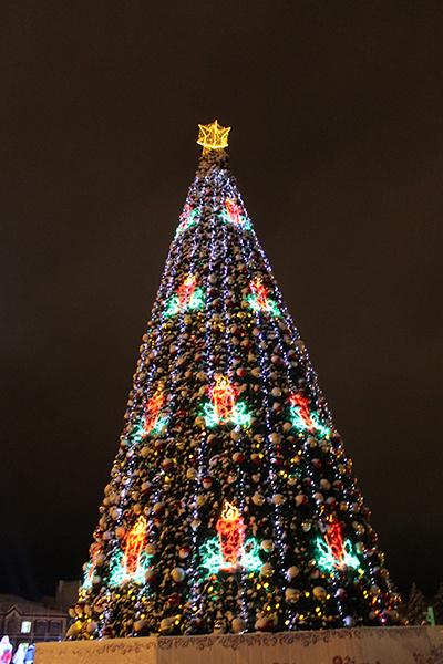 Дед Мороз в Самаре
