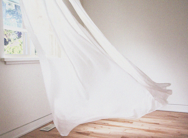 как отбелить тюль в домашних условиях