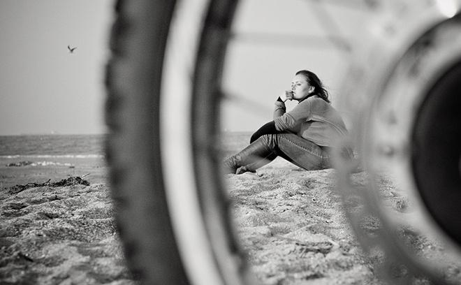 Красивые девушки фото, девушка на мотоцикле, байкерши Ростова, Ксения Золотарева
