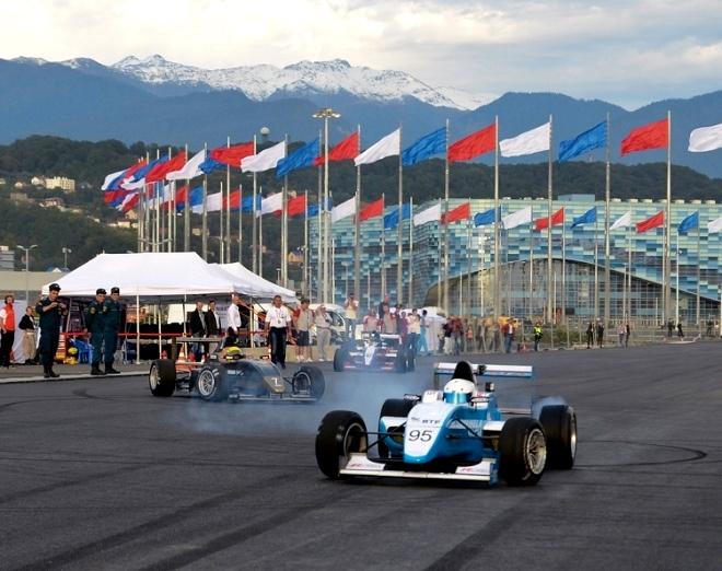 Гран-при России «Формула 1» в Сочи