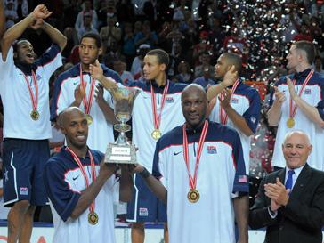 США - чемпион мира по баскетболу