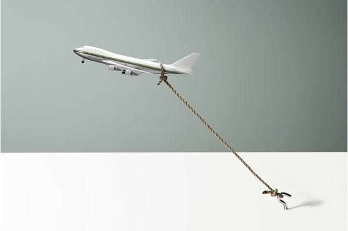 Самолет не может взлететь