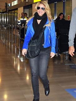 В повседневной жизни Шакира (Shakira) практически не носит украшения