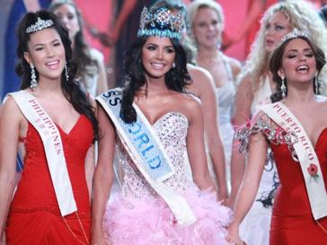 Мисс мира-2011 Ивиан Лунасоль Саркос Кольменарес