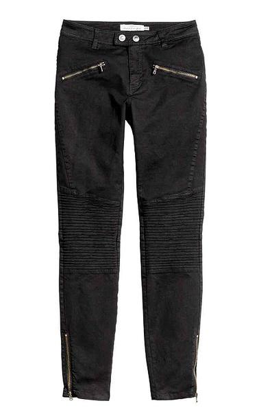 Байкерские брюки H&M, фото