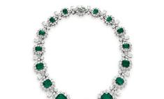 Коллекция украшений Элизабет Тейлор будет показана в Нью-Йорке