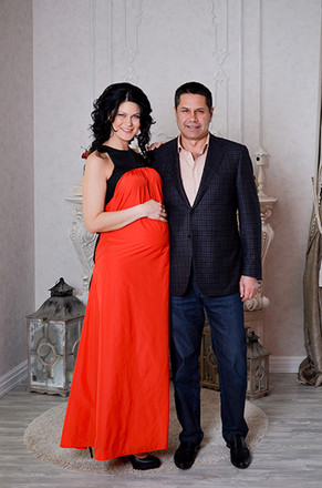 Анастасия с мужем