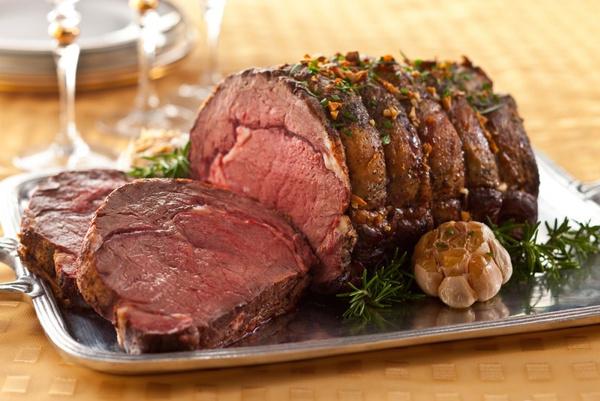 Запеченное в фольге мясо