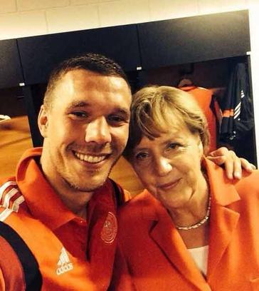 ЧМ 2014 по футболу: Меркель
