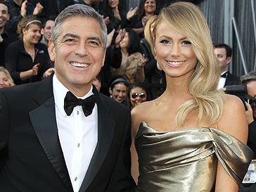 Джордж Клуни (George Clooney) и Сейсти Киблер (Stacey Keibler)