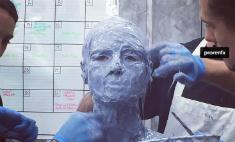 Хайди Клум готовит жуткий костюм на Хэллоуин