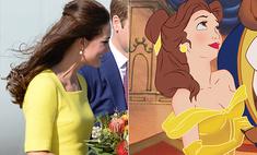 Точь-в-точь: Кейт Миддлтон сравнили с принцессами Диснея
