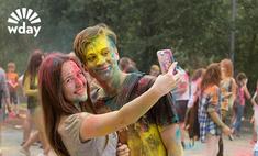 Розовый, зеленый, желтый: фотоотчет с Фестиваля красок в Ростове!