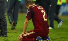 Сборная России вылетела из чемпионата мира