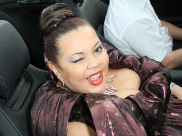 Певица Виктория Пьер-Мари.