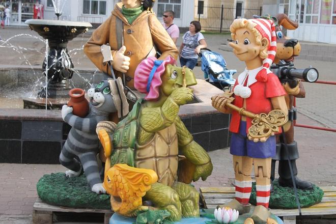 Новые скульптуры в Уфе, Учалах и Стерлитамаке