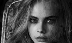 Вся жизнь – игра: Кара Делевинь в новой фотосессии