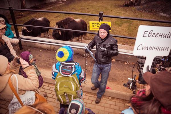 Звезды провели экскурсию по зоопарку фото