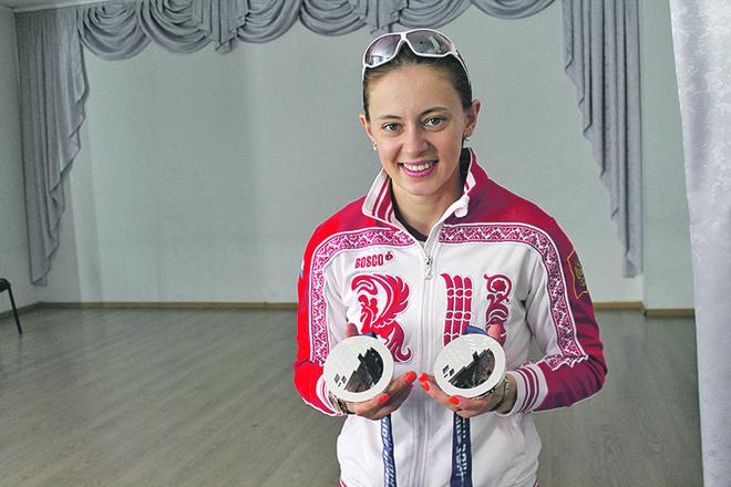 Два олимпийских серебра Ольги Вилухиной