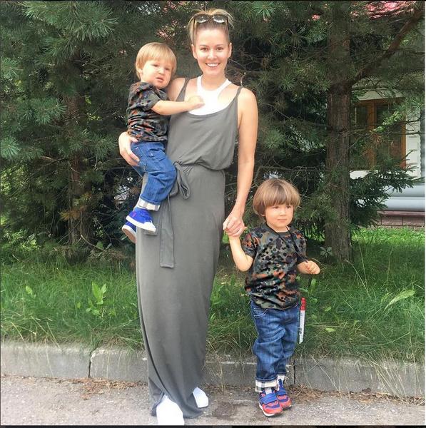 Мария Кожевникова родила 3-го ребенка
