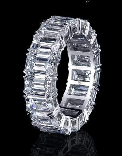 Кольцо с бриллинатами, Robert Prokop