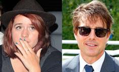 Дочь Тома Круза работает парикмахером