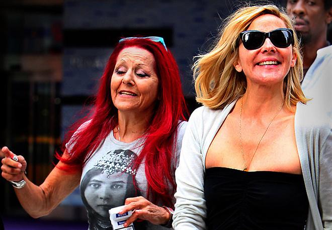 Патриция Филд, стилист «Секса в большом городе», и Ким Кэтролл.