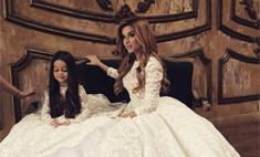 Ксения Бородина выбирает свадебное платье
