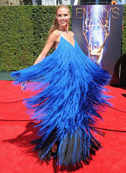 Хайди Клум на церемонии вручения премии Creative Arts Emmy Awards