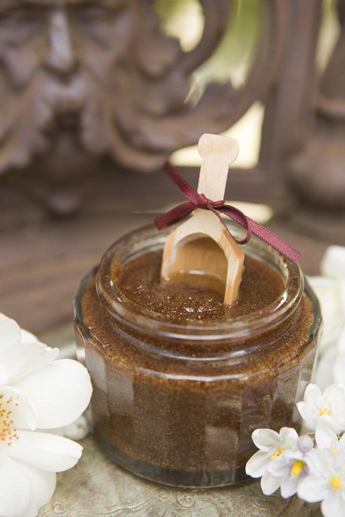 Скраб для тела с ванилью и корицей