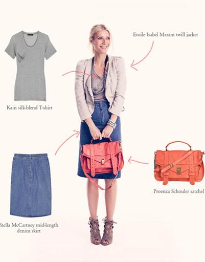 Льняной жакет - еще один модный тренд летнего сезона, считает Гвинет Пэлтроу.