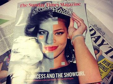 Рианна (Rihanna) и Леди Диана на обложке журнала