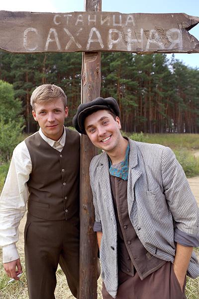 Главные герои проекта – Пашка и Гарик