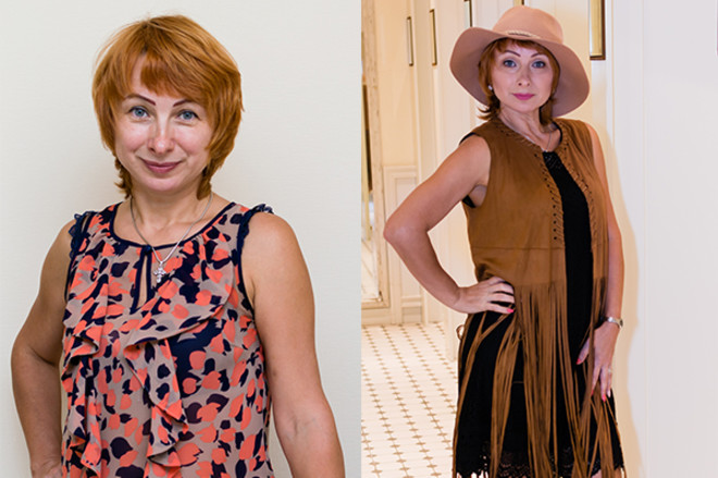Макияж: фото до и после
