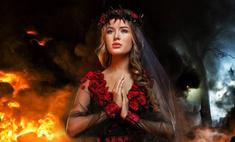 Украинка наденет на «Мисс Вселенная» траурное платье