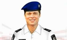 Брэд Питт стал лицом украинской полиции