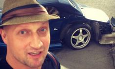 Гоша Куценко разбил кабриолет за $150 тысяч
