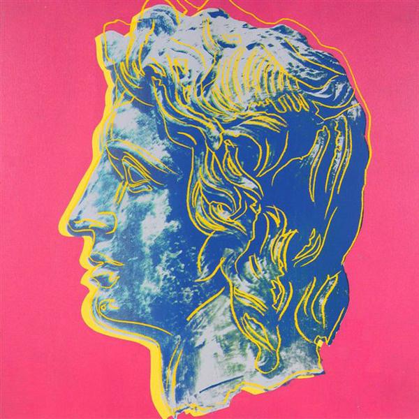 Портрет Александра Македонского, 1982 год.