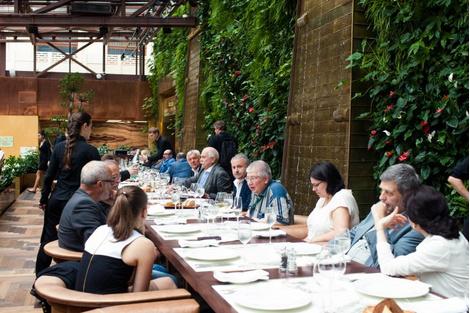 Жюри ММКФ на итальянском ужине | галерея [1] фото [2]
