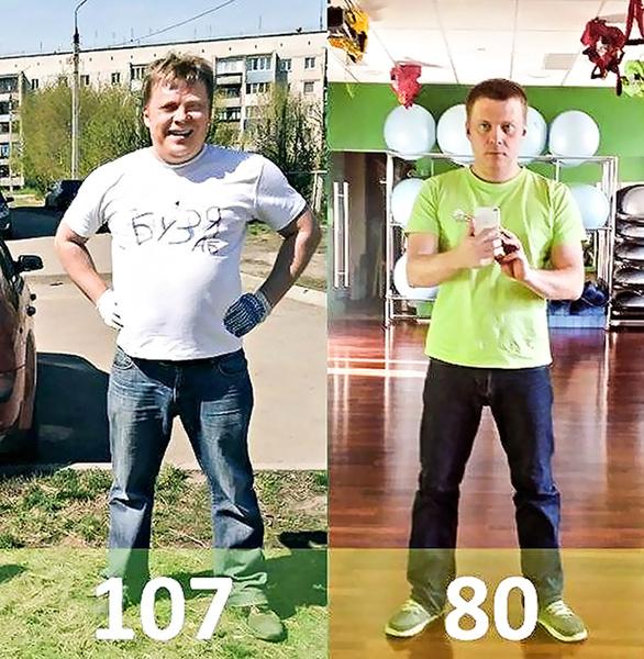 как похудеть на 19 кг