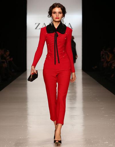 Показ коллекции ZARINA осень-зима 2013/14 на Mercedes-Benz Fashion Week Russia